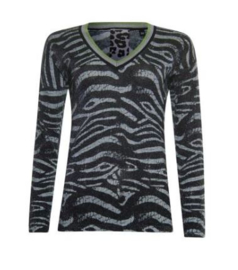 POOOLS│Sweater zebra