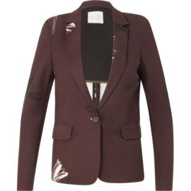 COSTER COPENHAGEN│Suit jacket in bloesem print
