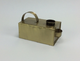 Match C/Holder 40mm T.Light 22x10x12 cm BRASS