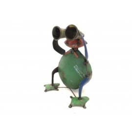 Frog sitting telescoop H28