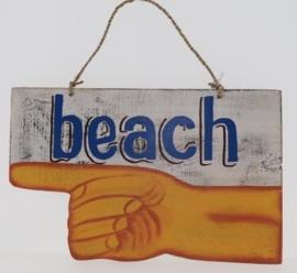Beach Bord 19x30 cm