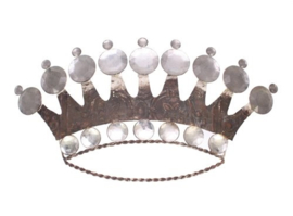 Kroon wanddecoratie 50x4x26cm