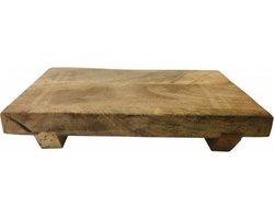 Tappasplank - borrelplank - serveerplank - hapjesplank - Mango hout - 30 x 20 x 3 cm