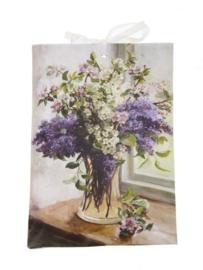 Geurzakje Seringen (lavender) 17x11,5cm