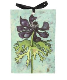 Geurzakje Uitgebloeide anemoon (Lelie van dalen) 17x11,5cm