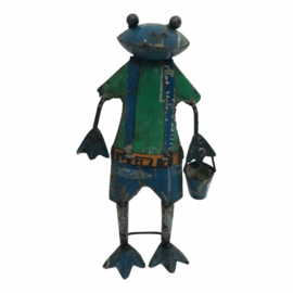 Frog with bucket S H30cm