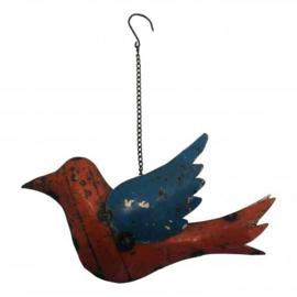 Bird hanging S