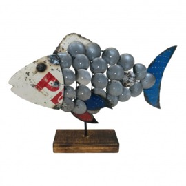 Fish recycled drum