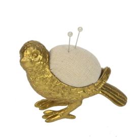 Vogel speldenkussen 8x4x7cm
