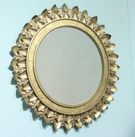 Spiegel goud rond 79x10,5x79,5cm