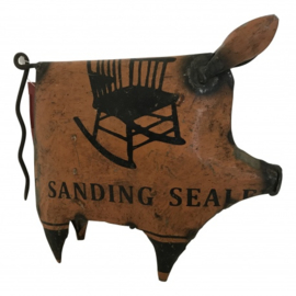 Pig old iron S 15cm, different colours