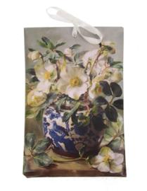 Geurzakje Helleboris (lavender) 17x11,5cm