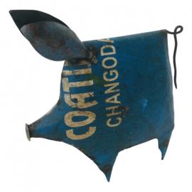 Old iron pig big H26cm div. kleuren