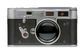 Blikje Camera 13,5x7,5x7,5cm