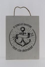 Tekstbord 30x40 cm Yacht Club Championship