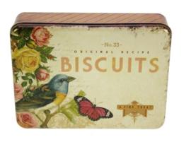 Blikje Biscuits Nostalgie 22,5x17x5,5cm