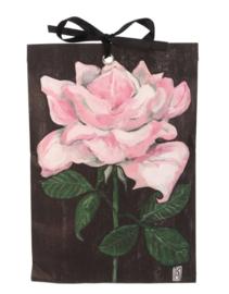 Geurzakje Roze roos (english rose) 17x11,5cm