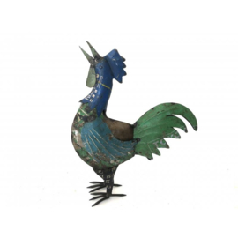 Rooster big old iron 45x60cm.