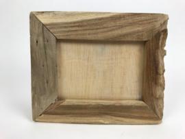 Fotolijst driftwood 22x27 (13x18) cm (drijfhout)