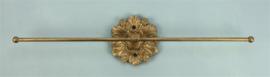 Rozet sieradenhouder muur ant. goudkleur 37,5x8x4cm