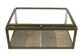 Vitrinekastje 40x29x16,5cm