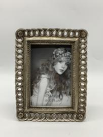 Fotolijst 10 x 15cm zilverkleurig