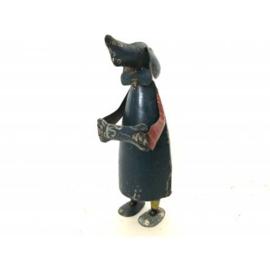Dog old iron H35cm.
