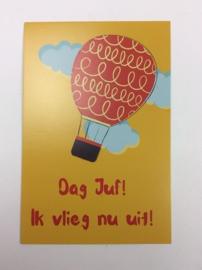 Postkaart cm Dag Juf