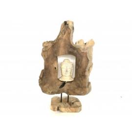 Abstract buddha head teak(3124) Abstract buddha head teak(3124) Abstract buddha head teak