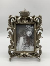 Kunstof fotolijst met kroon