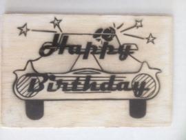 Postkaart Happy Birthday