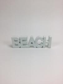 Tekstblok BEACH 21x6 cm
