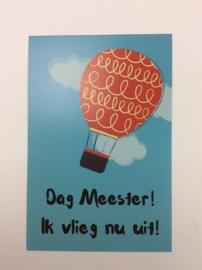 Postkaart cm Dag Meester