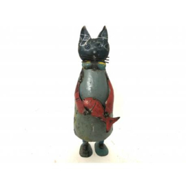 Cat old iron H40cm