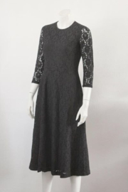 Esprit - Luxe zwart kanten jurk - Mt 36