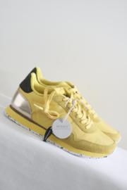 Woden - Geel suede lederen sneakers - 40 & 41