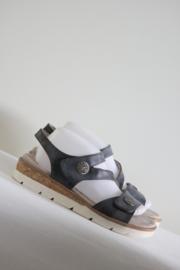 Relife - Blauw lederen sandalen - Mt 41