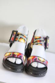 Desigual - Zwart gekleurde sandalen met gesp - Mt 37