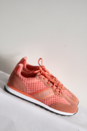 Pantofola d'Oro Gold - Oranje suede sneakers - Mt 41
