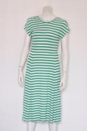 Mads Norgaard - Groen wit gestreepte jurk - Mt 38 M