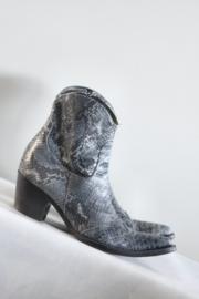 Donna Piu - Blauw grijs lederen cowboy boots - Mt 39