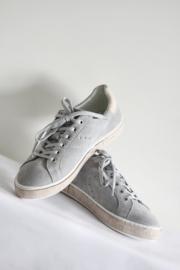 Post X Change - Grijs suede sneakers met kurk - Mt 41