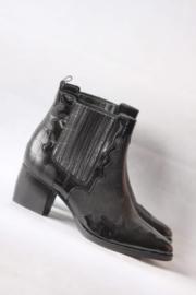 Sacha - Zwart lederen boots - Mt 41