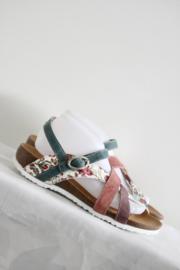 Think! Gekleurde lederen sandalen - Mt 41