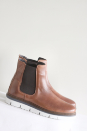 Bianco - Bruin lederen boots - Mt 40
