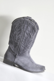 Mer du Nord - Blauw suede cowboy boots - Mt 38