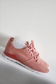 UGG - Zacht roze lederen sneakers - Mt 41
