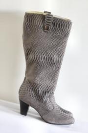 Babouche - Grijs bruin bewerkte laarzen - Mt 42