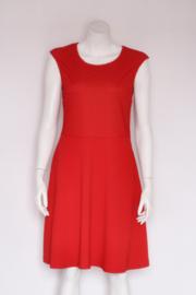 Lola Liza - Rode swing dress met kant - Mt 42