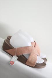 Fitflop - Zacht roze slippers - Mt 41